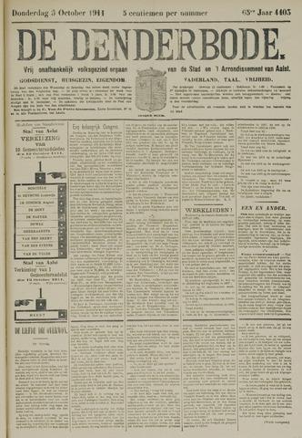 De Denderbode 1911-10-05