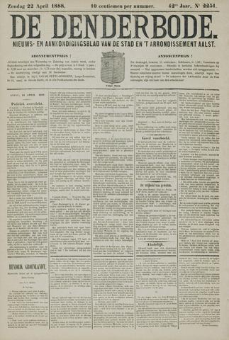 De Denderbode 1888-04-22