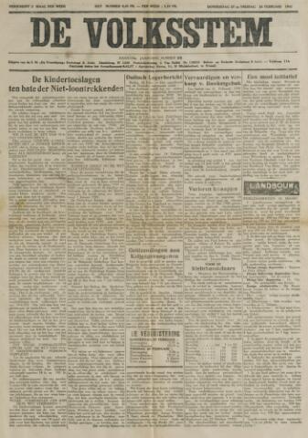 De Volksstem 1941-02-27