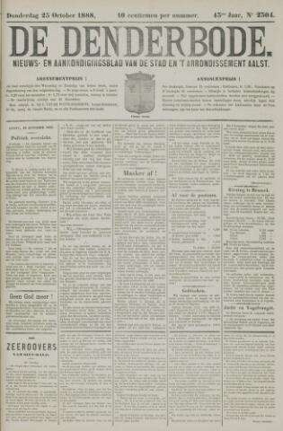 De Denderbode 1888-10-25