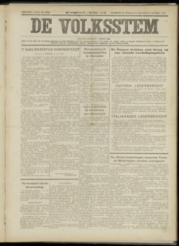 De Volksstem 1941-10-25