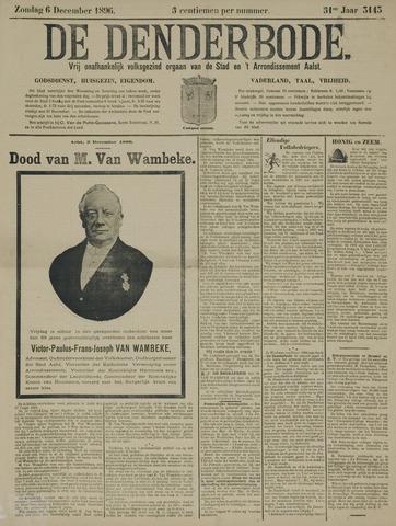 De Denderbode 1896-12-06