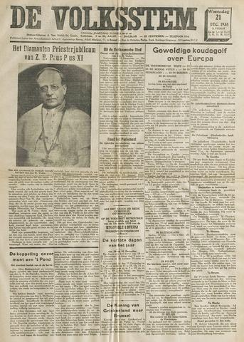 De Volksstem 1938-12-21