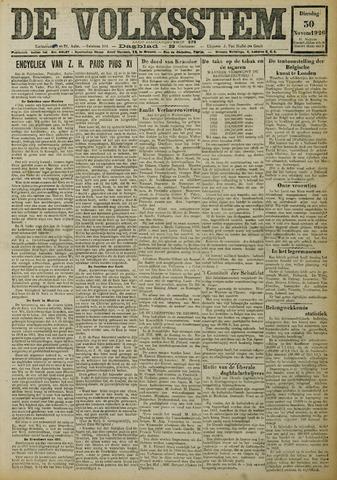 De Volksstem 1926-11-30