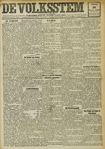 De Volksstem 1923-12-28