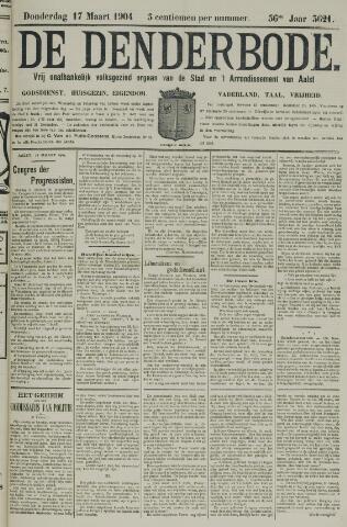 De Denderbode 1904-03-17