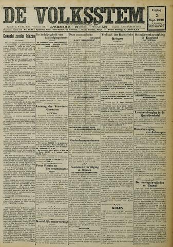 De Volksstem 1926-09-03