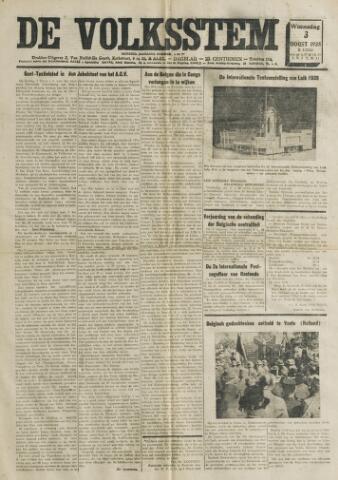 De Volksstem 1938-08-03