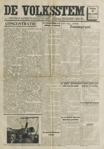 De Volksstem 1938-07-31