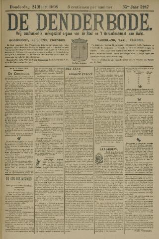 De Denderbode 1898-03-24