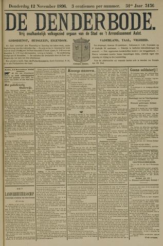 De Denderbode 1896-11-12