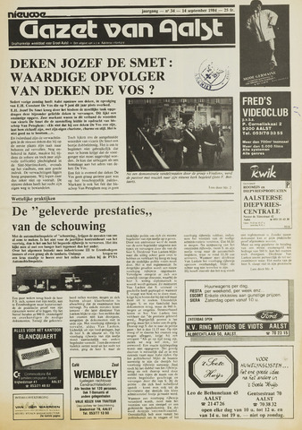 Nieuwe Gazet van Aalst 1984-09-14