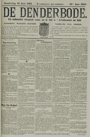 De Denderbode 1903-06-18