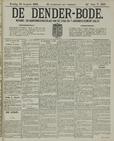 De Denderbode 1891-08-30