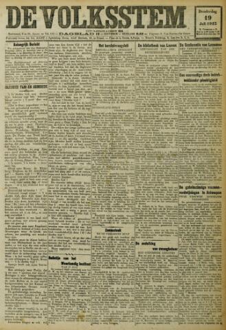 De Volksstem 1923-07-19