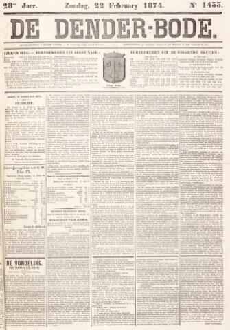 De Denderbode 1874-02-22