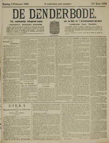 De Denderbode 1911-02-05