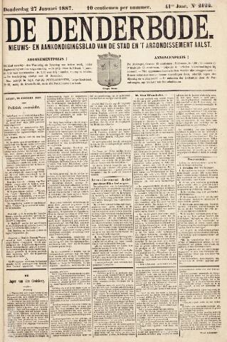 De Denderbode 1887-01-27