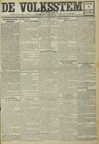 De Volksstem 1931-03-07