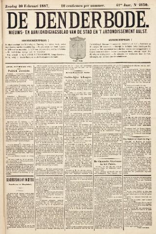 De Denderbode 1887-02-20