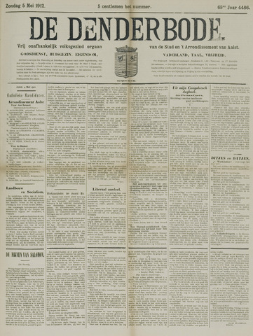 De Denderbode 1912-05-05