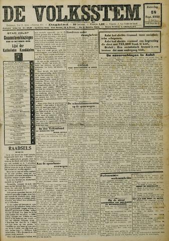 De Volksstem 1926-09-18