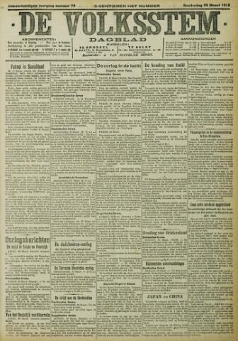 De Volksstem 1915-03-25