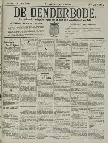 De Denderbode 1903-06-14