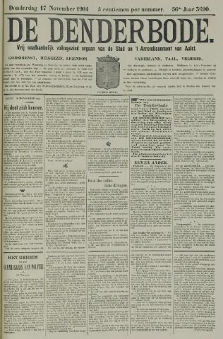 De Denderbode 1904-11-17