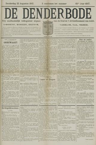 De Denderbode 1912-08-22