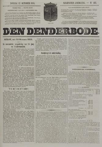De Denderbode 1854-10-15
