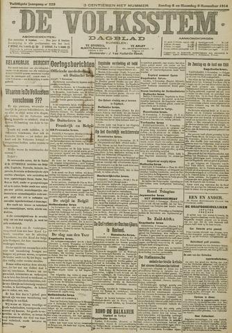 De Volksstem 1914-11-08