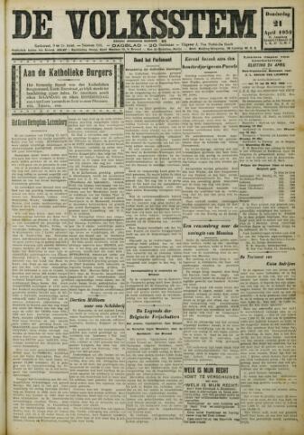 De Volksstem 1932-04-21