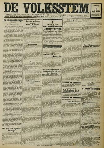 De Volksstem 1926-07-03