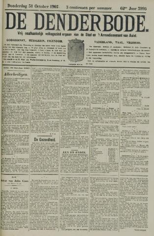 De Denderbode 1907-10-31