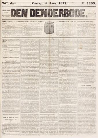De Denderbode 1871-06-04