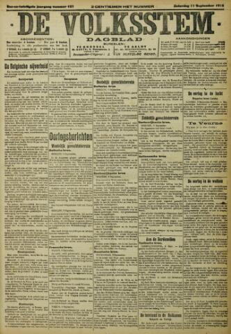 De Volksstem 1915-09-11