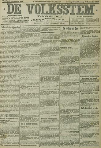 De Volksstem 1914-12-20
