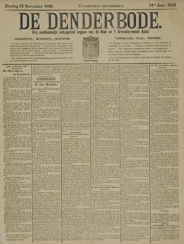 De Denderbode 1896-12-13