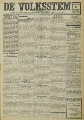 De Volksstem 1931-01-15
