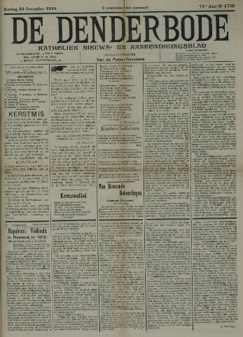 De Denderbode 1916-12-24