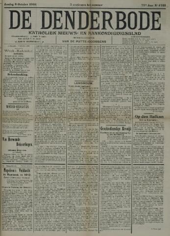 De Denderbode 1916-10-08