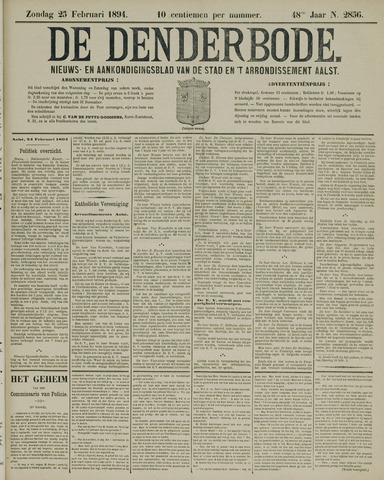 De Denderbode 1894-02-25