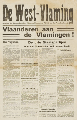 De West-Vlaming 1930