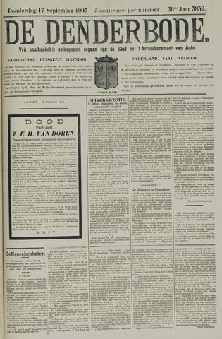 De Denderbode 1903-09-17