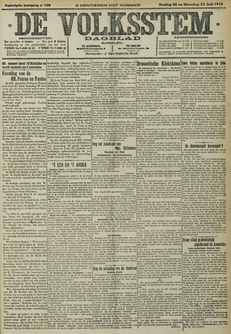 De Volksstem 1914-06-28