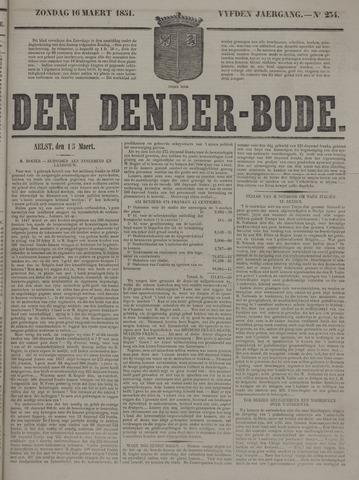 De Denderbode 1851-03-16