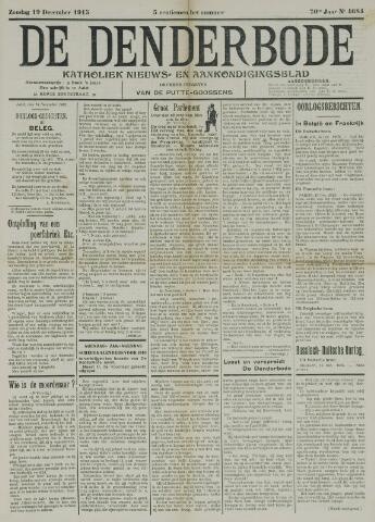 De Denderbode 1915-12-19
