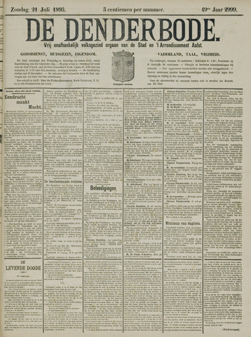 De Denderbode 1895-07-21