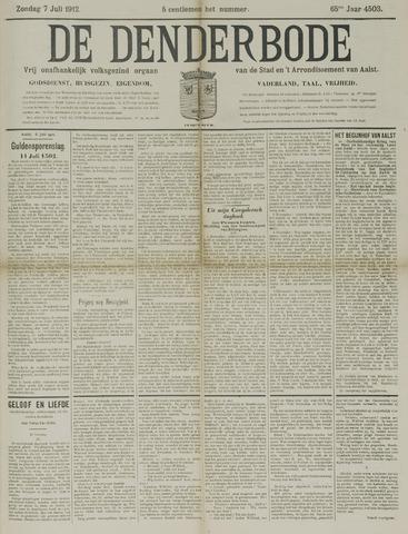 De Denderbode 1912-07-07